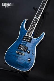 Esp Ltd Deluxe Mh 1000 Nt See Thru Blue Stb