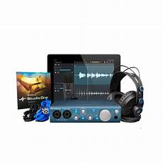 presonus audiobox itwo studio presonus audiobox itwo studio recording bundle 2x2 reverb