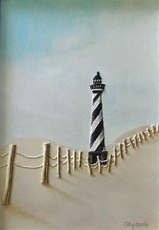 spiral lighthouse painting black white barber pole