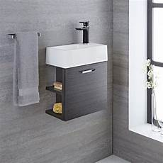 Waschtisch Gäste Wc - waschtisch f 252 r g 228 ste wc mit unterschrank grau 400mm offene