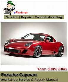 auto repair manual online 2008 porsche cayman electronic valve timing porsche cayman service repair manual 2005 2008 automotive service repair manual