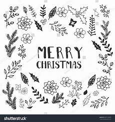 black white christmas greeting card template stock vector 487126849