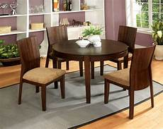 ottawa transitional walnut casual dining with padded fabric seat cm3332t