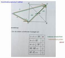 vektoren im quadrat berechnen addition und skalarprodukt