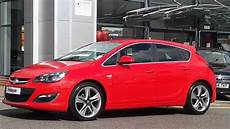 Opel Astra Rot - 2014 63 plate vauxhall astra 1 4 16v sri 5dr power