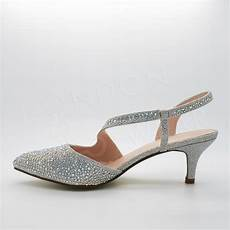 kitten heel wedding shoes uk womens low kitten heel diamante sandals evening