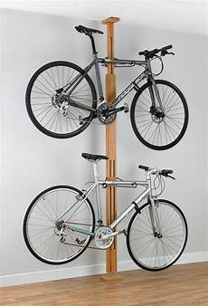 Apartment Bike Rack by A High End Wooden Pressure Mount Bike Rack For Apartments