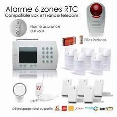 cout alarme maison alarme maison de 6 zones securite box 201 quipements et