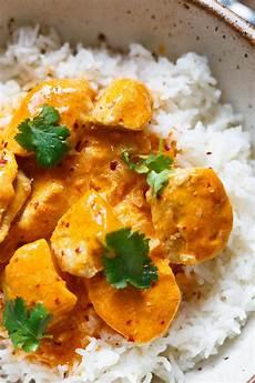 Curry Mit Kokosmilch - einfaches chicken curry mit kokosmilch 30 minuten