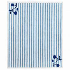 Gulsparv Tapis 233 Bleu Blanc Ikea