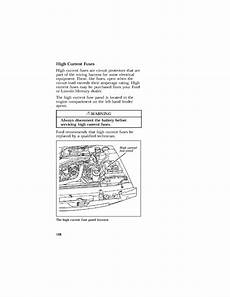 1997 ford thunderbird fuse diagram i a 1997 ford thunderbird which my headlights do not turn on when i hit my headlight