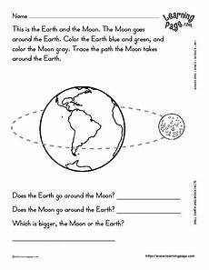 facts about the sun worksheet earth and moon facts worksheet for 2nd 3rd grade