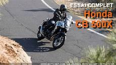 Trail Essai Honda Cb 500 X 2019 La Route Du X