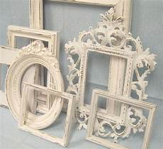 Shabby Chic Picture Frames White Ornate Collection