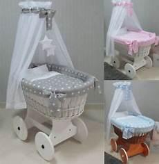 rivestimenti culle per neonati cesta in vimini per neonato con set di biancheria