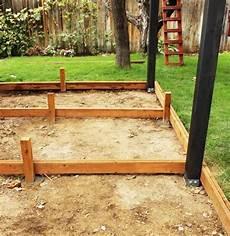 structure terrasse bois fabrication terrasse bois comment r 233 aliser une structure