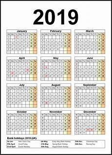 printable 2019 calendar with holidays 2019calendar 2019holidays usa uk canada australia