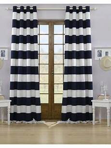 Vorhänge Blau Weiß - vorhang navy beige blau wei 223 strapazierf 228 hig