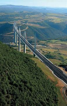 clermont ferrand millau millau viaduct located in southern the bridge