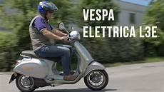vespa elettrica l3e ein klassiker als neuer elektro