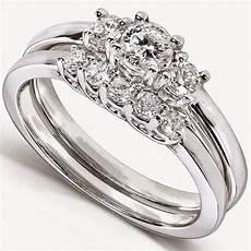 designer simple wedding engagement ring sets with diamond