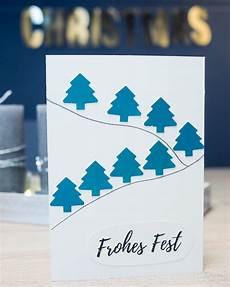 Weihnachtskarten Selber Machen 3 Einfache Ideen