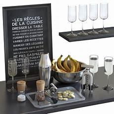 cocktail set wmf parisian shaker 3d cgtrader