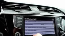 07 Vw Touran Infotainmentsystem Das Car Menue