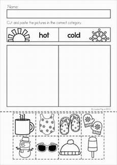 winter preschool no prep worksheets activities by