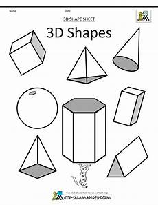 shapes worksheet easy 1097 how to draw 3d simple geometric shapes drawing and coloring for shape coloring pages