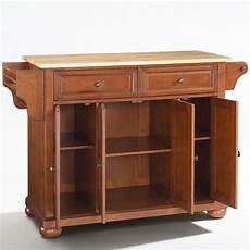 crosley furniture kitchen island crosley furniture alexandria wood top kitchen island in