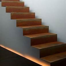 escalier en acier escalier en acier corten pour ext 233 rieur livr 233 en kit