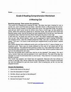 poetry comprehension worksheets for 6th grade 25247 worksheet reading comprehension worksheets 6th grade grass fedjp worksheet study site