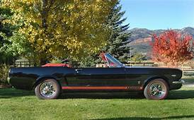 1965 FORD MUSTANG GT CONVERTIBLE  61695