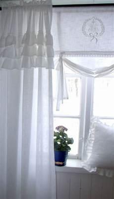 carol wei 223 vorhang gardine 120x240 volant landhaus shabby