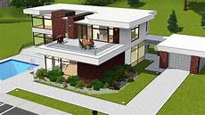 awesome modern house plans sims 3 new home plans design