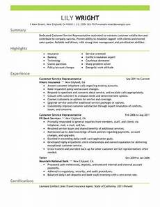 resume exles 2018 customer service customer exles resume resumeexles service