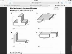 showme go math volume of the composite figure 11 11