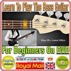 Learn Bass Guitar Dvd How To Play For Beginners Ebay