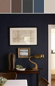 wandfarbe zu dunklen möbeln navy wall color designed by perrone stylyze