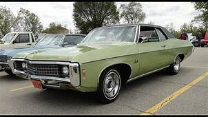 1969 Chevrolet Chevy Impala With A 396 Big Block Engine