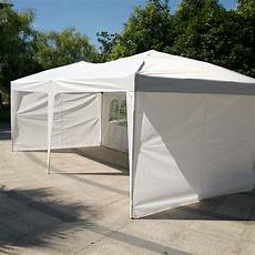 folding gazebo zimtown 10 x20 ez pop up wedding tent folding