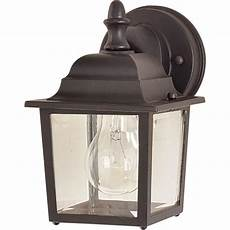 lighting builder cast 1 light empire bronze outdoor wall 1025eb the home depot