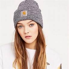 Bonnet Carhartt Hat Burnt Umber White Trxm