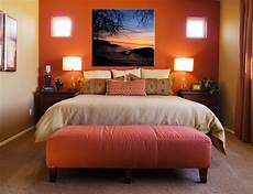 Orange Accent Wall In Bedroom Should We Do This To