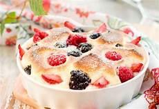recettes gratin de fruits rouges nh moi