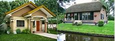 Desain Rumah Sederhana Asri Simpel Green