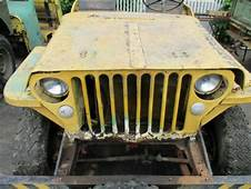 1942 Ford GPW / Willys Mb Jeep Script Slat Grill Flat