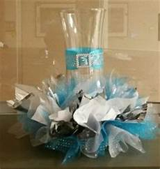 malibu blue and silver table settings centerpieces pinterest blue silver weddings and