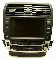 2005 2008 acura tsx navigation gps radio 6 disc changer player screen 7ka0 05
